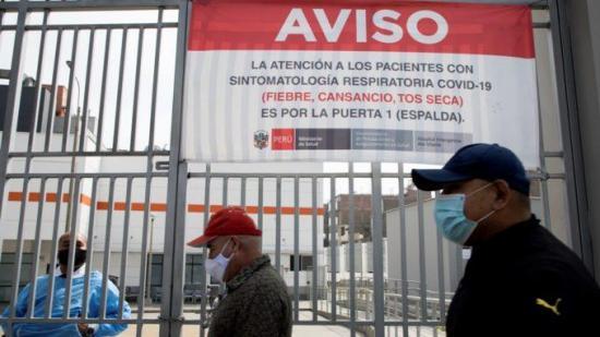 Perú roza los 120.000 casos de COVID-19 tras 70 días de cuarentena