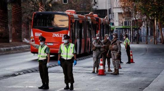 Primer caso de COVID-19 en el Gobierno de Chile tras contagio de un ministro
