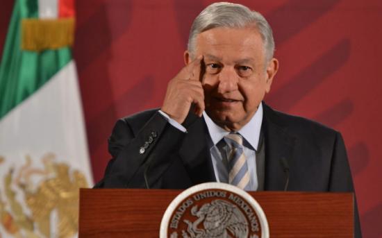 López Obrador asegura que México 'va de salida' de la crisis del coronavirus