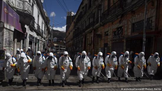 Bolivia encara el fin de la cuarentena mientras siguen los casos de COVID-19