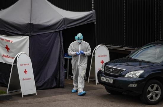 10 mil trabajadores de la salud están contagiados de Covid-19 en Rusia, según sindicato