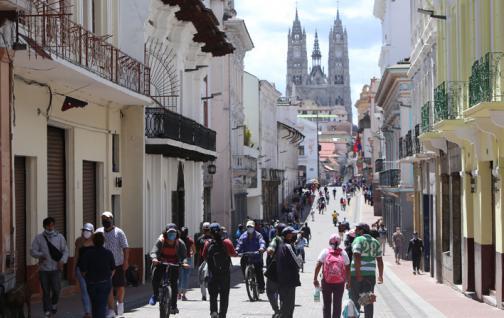Quito, capital ecuatoriana, pasará a 'semáforo amarillo' el próximo 3 de junio