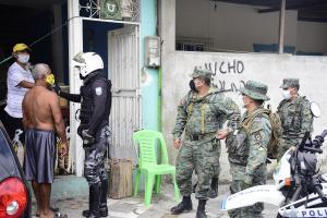 Tres parroquias de Portoviejo han sido intervenidas por alto número de casos de Covid-19