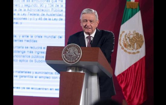 Presidente de México segura que en su país 'ya se domó' la pandemia del Covid-19