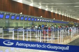 El aeropuerto de Guayaquil reiniciará sus vuelos internacionales el 1 de junio