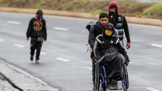 La discapacidad, otro invisible y doloroso frente de la pandemia en Ecuador