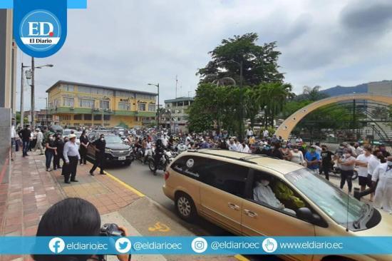 Tres días de luto en el cantón Santa Ana por la muerte del alcalde Ramón Mieles