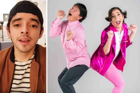 Actor Diego Ulloa de Enchufe TV cuestiona personajes gays de David Reinoso y Victor Aráuz