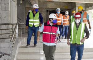 PORTOVIEJO: El plazo para la reconstrucción del Palacio de Justicia podría ampliarse