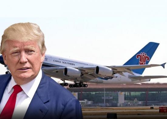 Donald Trump le prohíbe a las aerolíneas chinas volar a EE.UU.