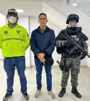 La Fiscalía anuncia la detención del asambleísta manabita Daniel Mendoza