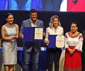 Susana González asume el cargo como prefecta de Guayas