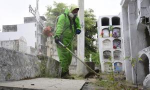 Las visitas a los cementerios de Portoviejo siguen prohibidas