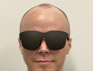 Facebook crea unas gafas de realidad virtual finas y compactas que parecen gafas de sol