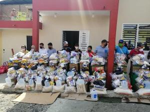 Reubican a las familias afectadas en incendio en la parroquia San Pablo