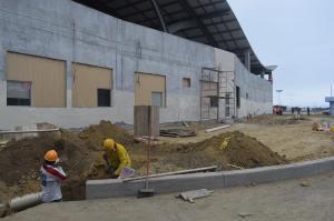 Retoman trabajos en el aeropuerto de Manta