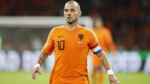 El holandés Wesley Sneijder se plantea volver a jugar al fútbol con el Utrecht