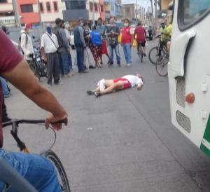Portoviejo: compañero de copas lo hirió cerca al mercado