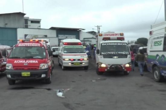 Cerca de 16 trabajadores resultaron afectados por inhalación de producto químico