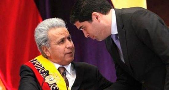 Presidente Moreno agradece a Otto Sonnenholzner ''por su entrega y gestión de servicio''