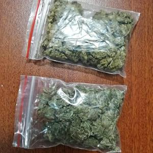Incautan 25 fundas de droga en un operativo en Manta