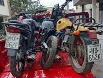 Manta: Policía retiene motos que eran clonadas