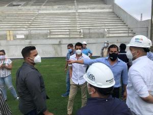 Esperan que tribuna del estadio Jocay esté lista en octubre