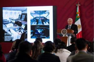 El Gobierno de México recibe una oferta de 120 millones de dólares por el avión presidencial