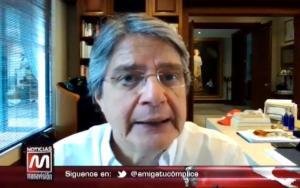 Guillermo Lasso ratifica candidatura presidencial para los comicios de 2021