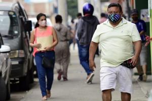 39 personas sancionadas por no usar mascarilla durante este fin de semana en Portoviejo
