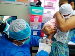 OMS alerta sobre el descenso de los niños vacunados a causa de la pandemia