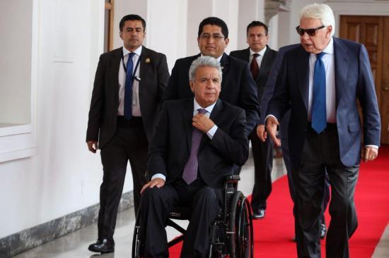 El presidente Lenín Moreno visitará este jueves el cantón El Carmen