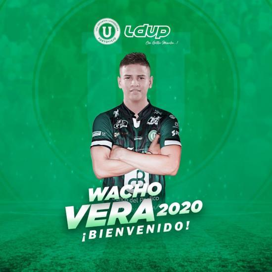 Wacho Vera fue confirmado como el nuevo refuerzo de Liga de Portoviejo