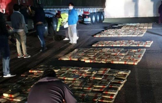 Incautan más de una tonelada de marihuana en Quito