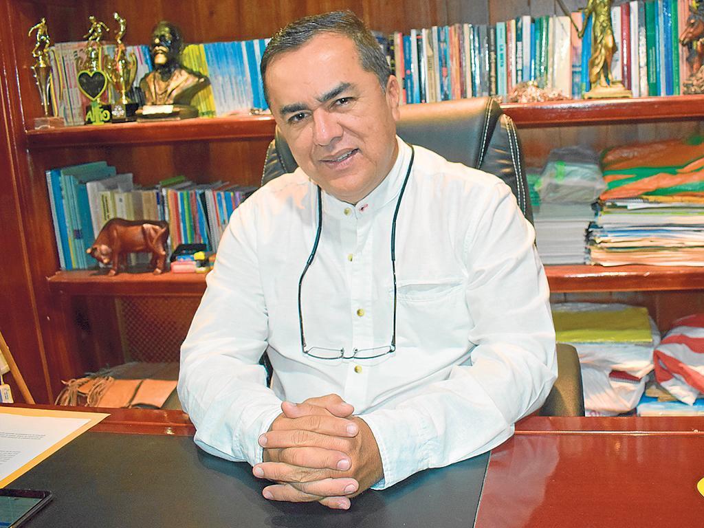 Alcalde de El Carmen anuncia que está contagiado de Covid-19