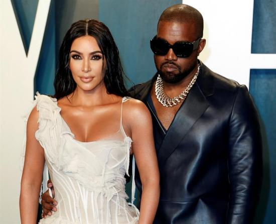 Kim Kardashian y Kanye West ya hacen vidas separadas, según medio de comunicación