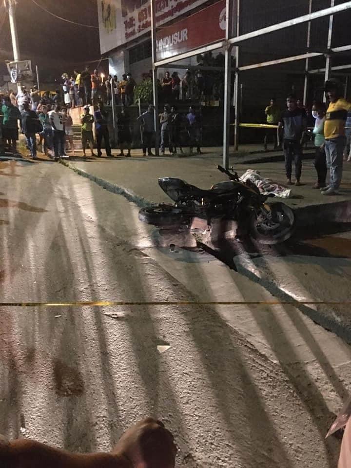 Mantense murió en un accidente de tránsito en Pedernales