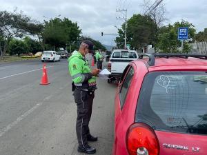 Portovial retoma los controles de tránsito para evitar más contagios en Portoviejo