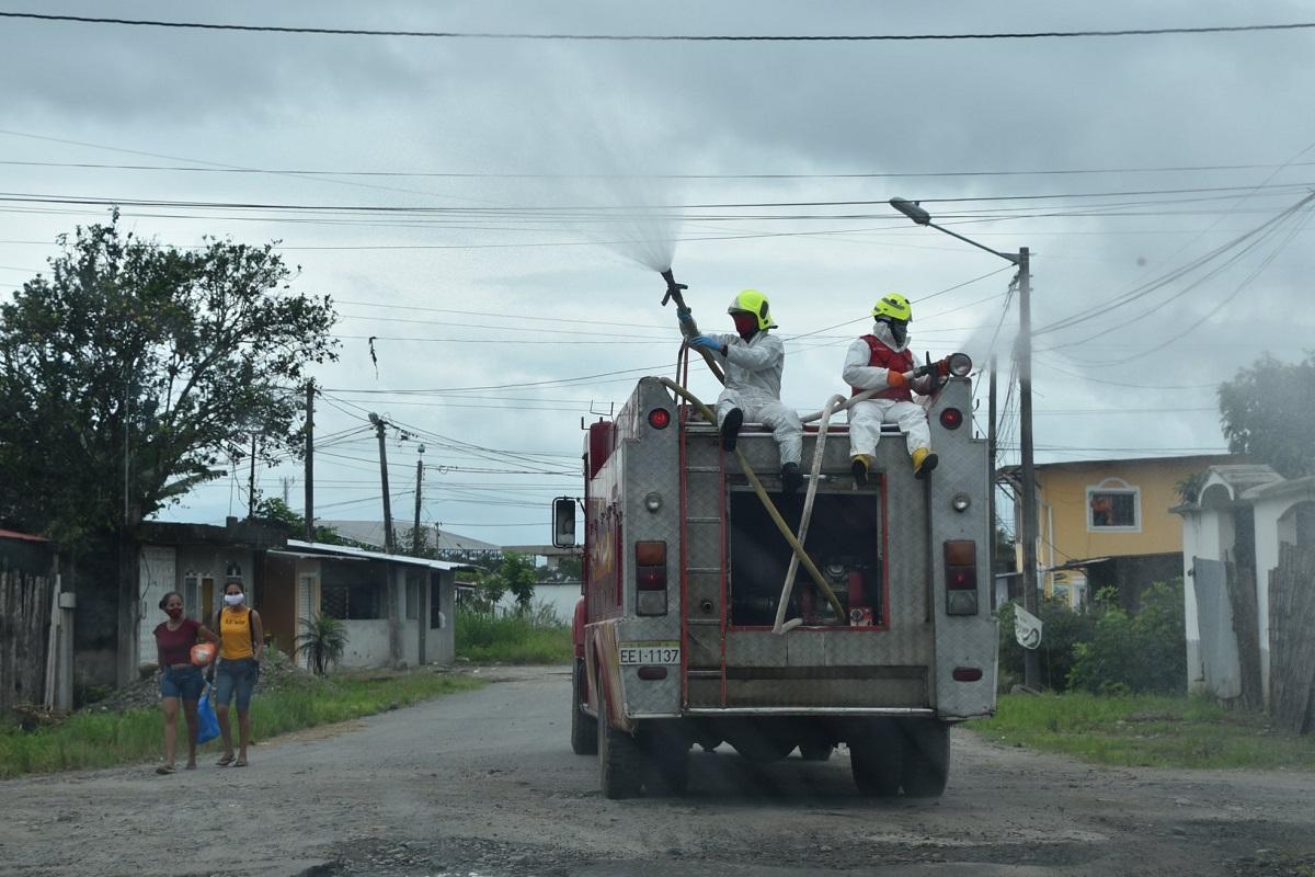 Covid-19: Cada semana se detecta un 'barrio caliente' en La Concordia