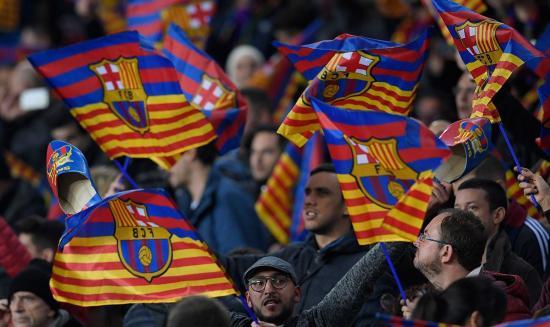 El Barcelona de España mantiene el liderato de interacciones en las redes sociales