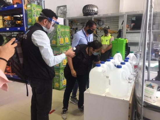 En Portoviejo se decomisan más de mil mascarilla sin registro sanitario