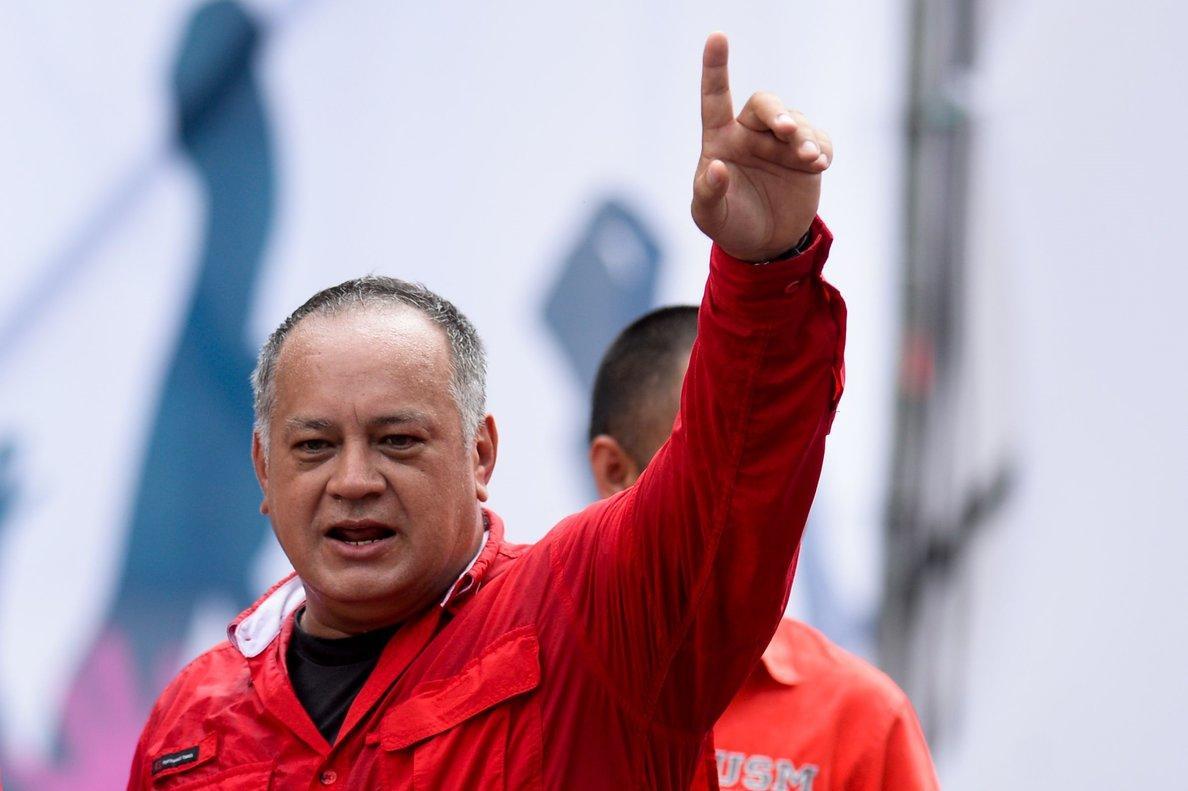 El dirigente chavista Diosdado Cabello reaparece tras casi un mes con covid-19