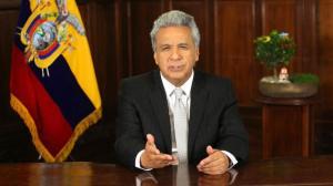 La credibilidad del presidente de Ecuador, Lenín Moreno, cae al 8%
