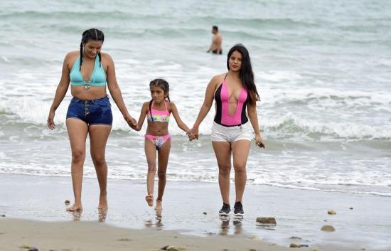 La playa de Crucita podrá recibir hasta 4 mil personas desde este miércoles