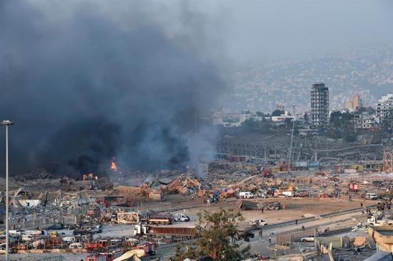 Líbano: Explosión en el puerto de Beirut deja 'innumerables' muertos y heridos