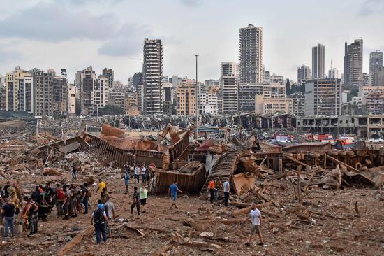 Aumentan a 113 los muertos y a más de 4.000 los heridos por las explosiones en el puerto de Beirut