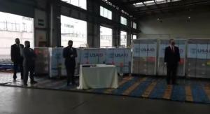 Ecuador recibe 200 ventiladores de alta tecnología donados por la Usaid