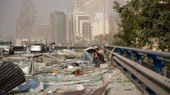 China se ofrece a ayudar al Líbano tras la explosión en Beirut