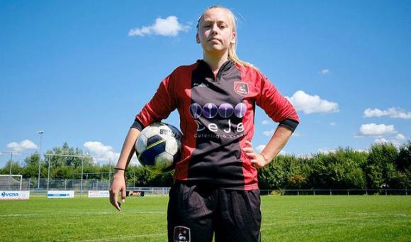 Ellen Fokkema será la primera futbolista que jugará en un equipo masculino
