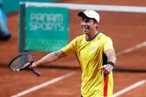 El tenista ecuatoriano Gonzalo Escobar da positivo de coronavirus